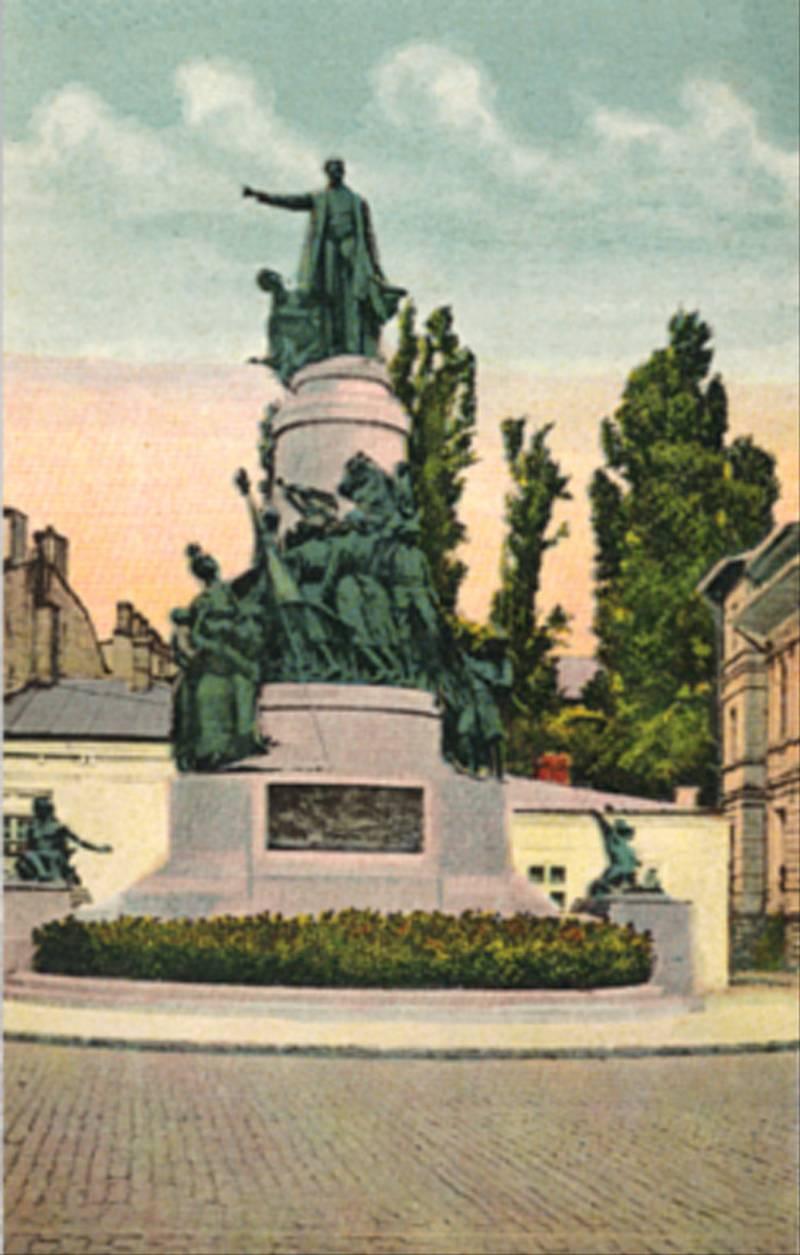 56. Take Ionescu Monument