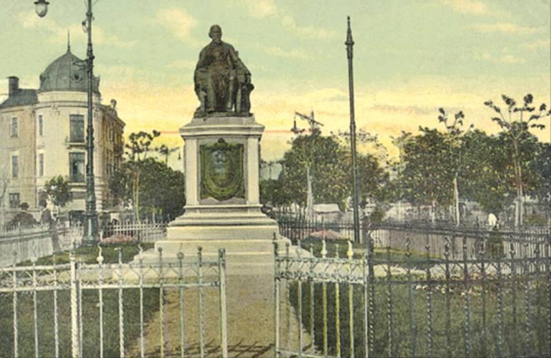 57. P-ta si Statuia C.A.Rosetti