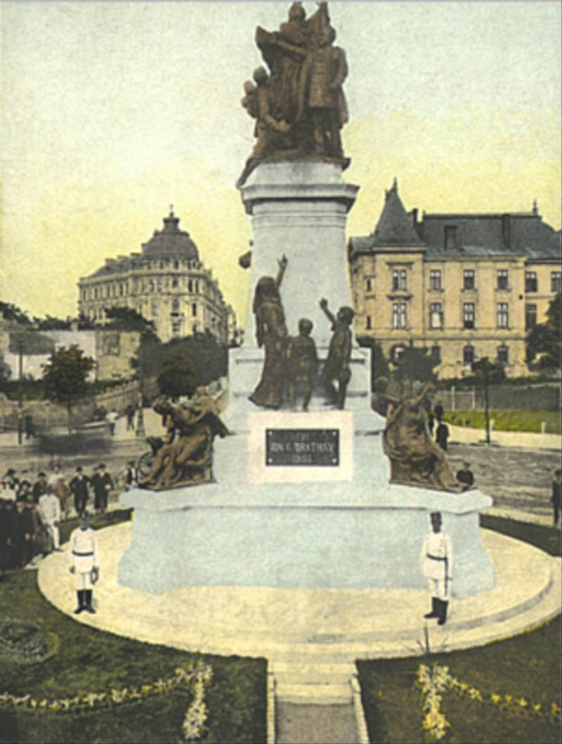 70. I.C.Bratianu Monument. B-dul Carol I