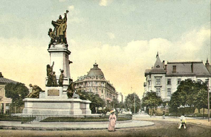 72. I.C.Bratianu Monument