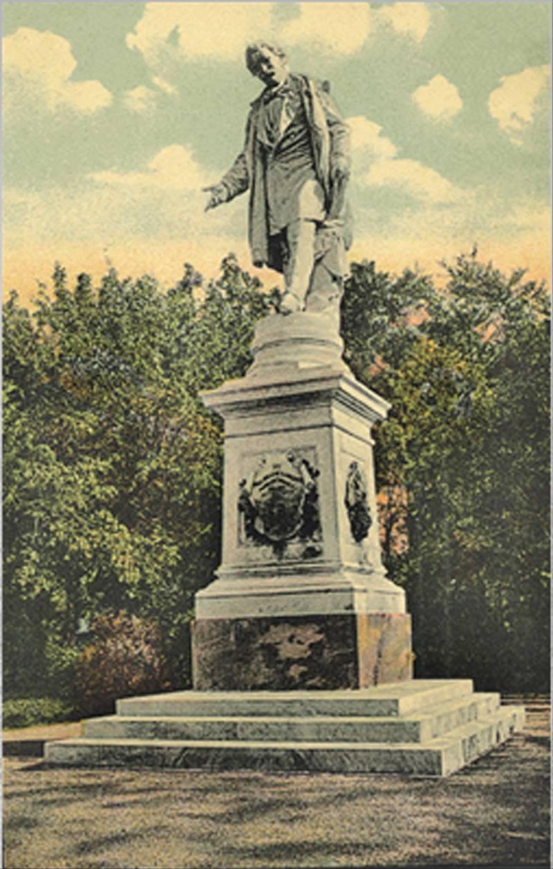 80. Statuia lui I.H.Radulescu