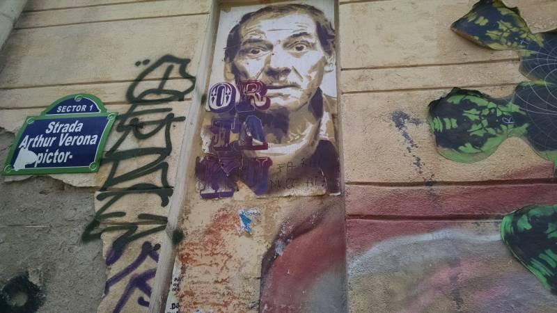 Graffiti Bucuresti Arthur Verona (1)