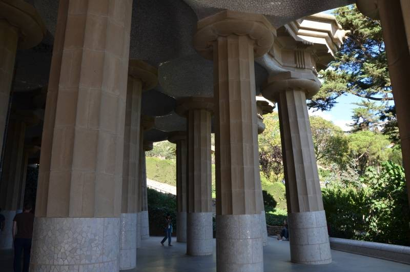 Parcul Guell Barcelona (1)
