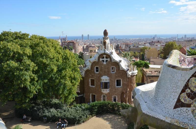 Parcul Guell Barcelona (2)