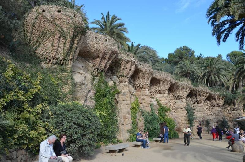 Parcul Guell Barcelona (7)