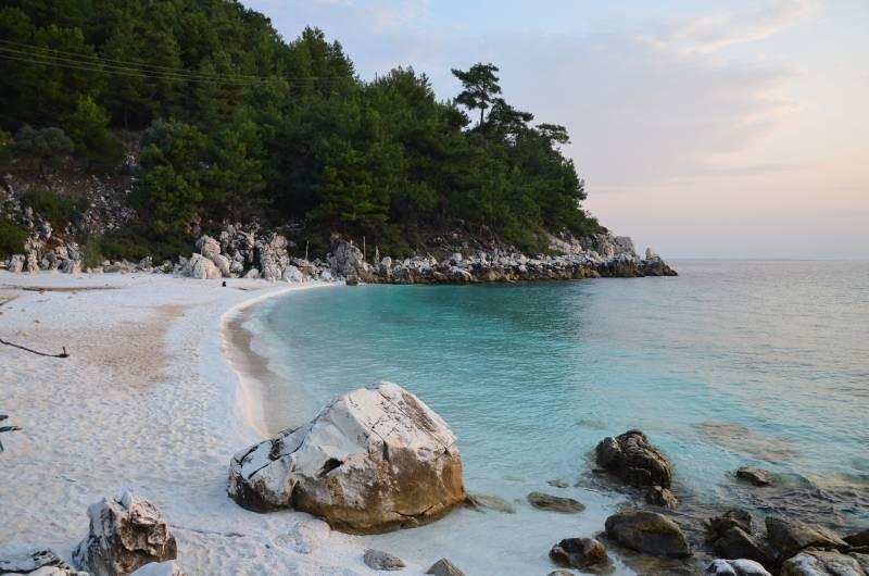 Plaja de Marmura Marble Beach Thasos (10)