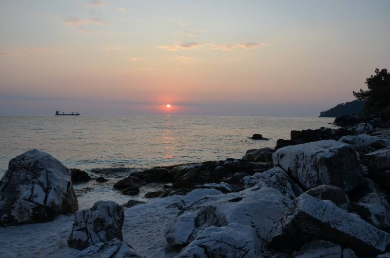 Plaja de Marmura Marble Beach Thasos (9)