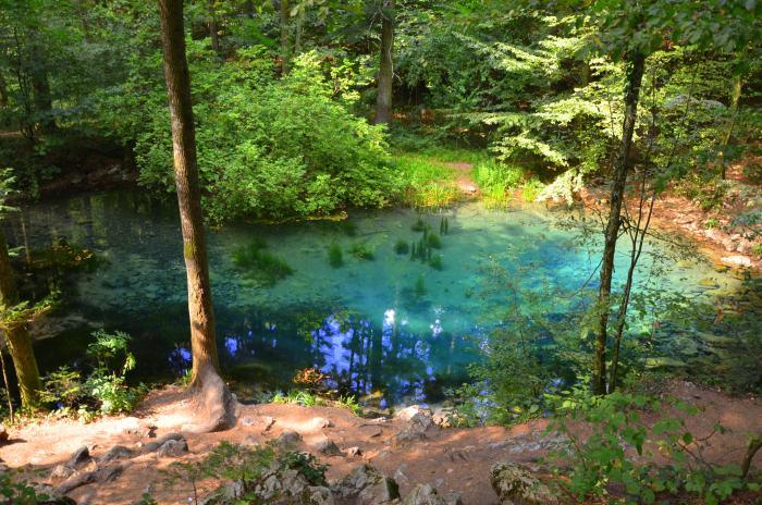 Lacul Ochiul Beiului Cheile Nerei (9)