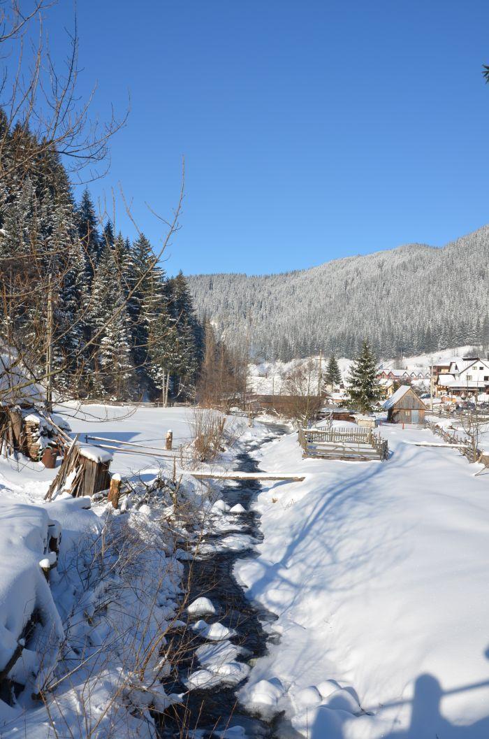 Moieciu de Sus iarna Revelion (2)