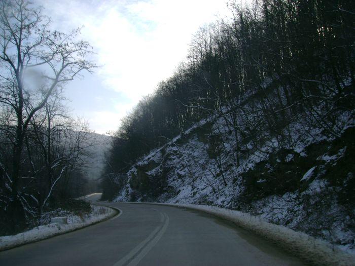 Cazanele Dunarii iarna (2)