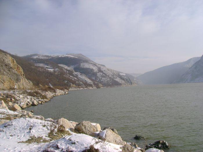 Cazanele Dunarii iarna (4)