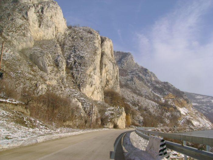 Cazanele Dunarii iarna (5)
