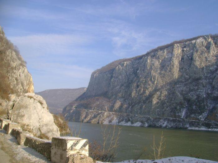 Cazanele Dunarii iarna (9)