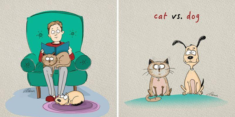 Caini de caine pentru caini? i pisici