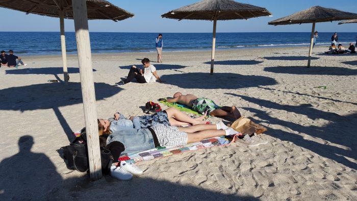 plaja H2O Mamaia