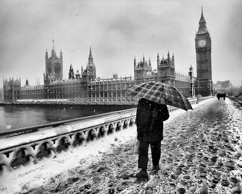 Iarna in Londra
