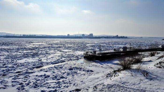 poze Dunarea inghetata Calarasi Silistra