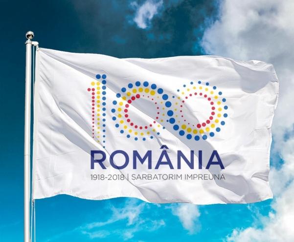Romania Centenar logo