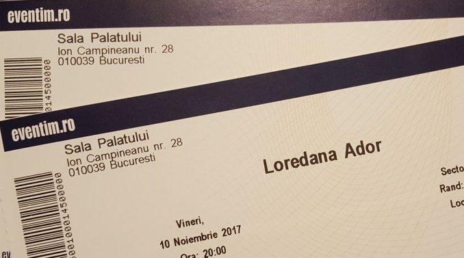 bilete concert Loredana ADOR