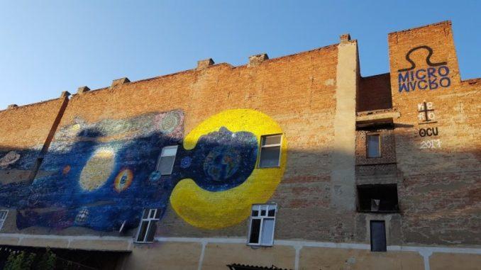 pictura murala Cluj Napoca