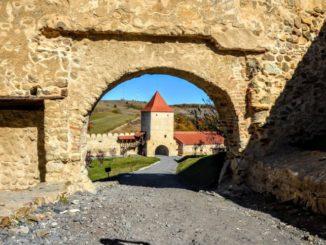 poze cetatea Rupea, judet Brasov