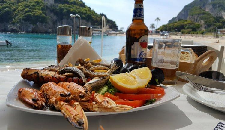 mancare buna Corfu Grecia
