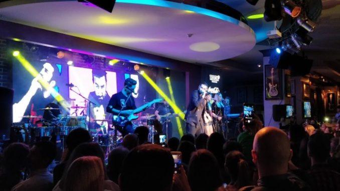 concert Smiley la Hard Rock Cafe