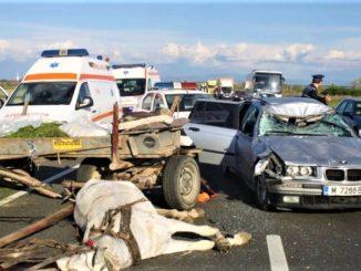 accident caruta Romania