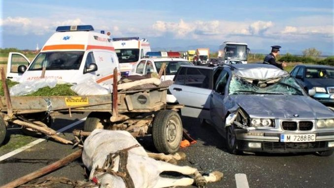 accident caruta Romania